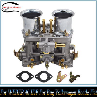 $ CDN103.37 • Buy Carburetor Engine 2 Barrel For WEBER 40 IDF For Bug Volkswagen Beetle Fiat