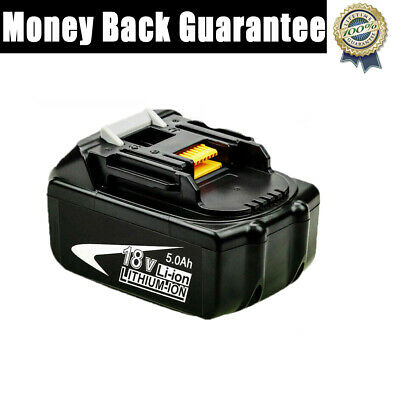 Replacement For Makita 18V 5.0AH Battery Lithium Ion Cordless BL1850B BL1840 UK • 22.23£