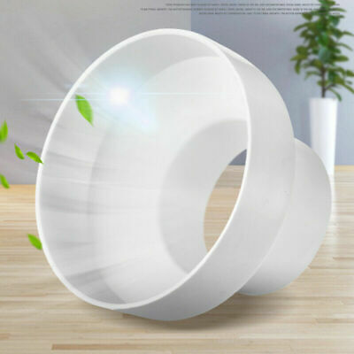 ABS Ventilation PVC Pipe Circular Ducting Reducer Adaptor 150mm To 100mm • 6.99£