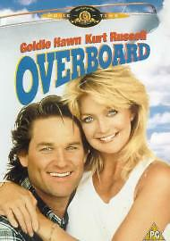 Overboard (DVD 1980s Comedy Film) Kurt Russell Goldie Hawn • 1.50£