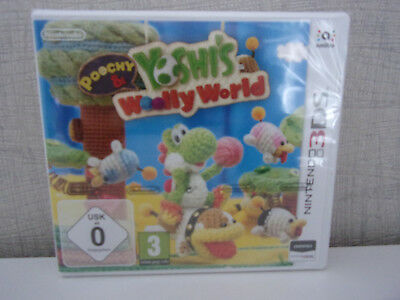 AU96.34 • Buy Nintendo 3DS-Spiel - Poochy & Yoshi's Woolly World - New & Boxed