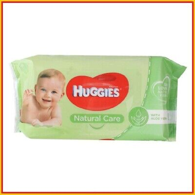 AU9.30 • Buy Huggies Baby Wipes Natural Care Sticky Top Pk56