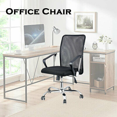 AU65 • Buy Gaming Office Chair Computer Chair Mesh Back Chair Executive Black