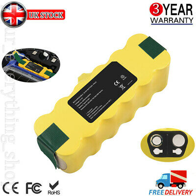 Replace Battery For IRobot Roomba 500 510 530 610 650 760 780 800 880 Cordless • 16.99£