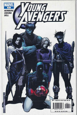 YOUNG AVENGERS #6 (2005) - 1st Cassie Lang As Stature - New Bagged • 19.99£