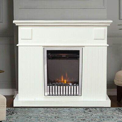 £149.97 • Buy 2000W Electric Fireplace Insert LED Heater Stove Adjustable Flame Remote Control