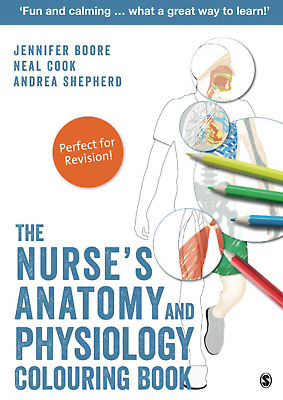 The Nurses Anatomy And Physiology Colouring Book • 4.11£