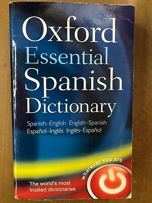 Oxford Essential Spanish Dictionary By Oxford University Press (Paperback, 2009) • 1£
