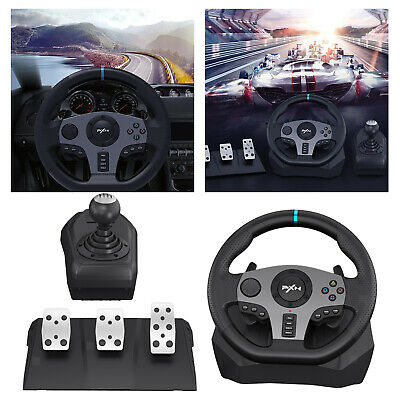 Racing Game Steering Wheel Pedals Bus Truck Driving Simulator For PS4/3 • 154.53£