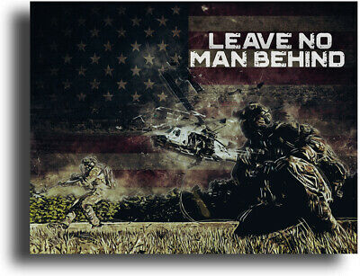 $9.95 • Buy Military Motivational Poster Art Print 11x14 Army US Marines Infantry Airborne