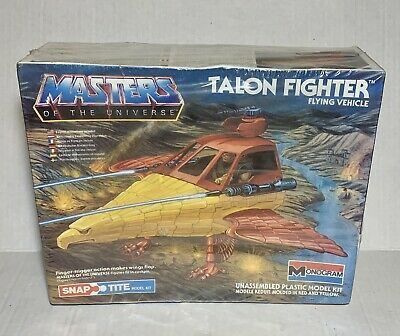 $119 • Buy Vintage 1983 Monogram Masters Of The Universe Talon Fighter Model Sealed In Box