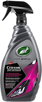 $17.95 • Buy Turtle Wax Hybrid Solutions Ceramic Spray Coating 3-in-1 Detailer Intense Shine