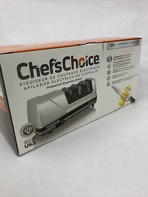 $ CDN181.12 • Buy 🔥 (NEW) Chef's Choice 130 Professional Electric Knife Sharpening Station 3 Slot