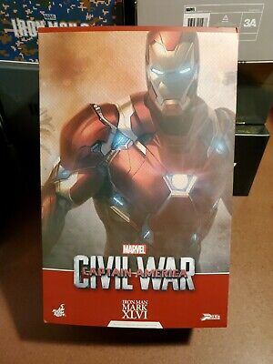 $ CDN604.60 • Buy Hot Toys PPS003 Iron Man - Captain America Civil War Mark 46 XLVI Power Pose 1/6