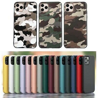 AU10.99 • Buy IPhone Case For 12 Pro/11 Pro Max/SE 2 X/XS XR 7/8 Plus Soft Silicone Shockproof