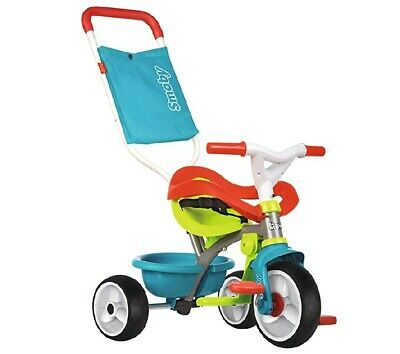 Smoby Multi-coloured Comfort Trike With Parent Handle Multifunctional Design • 55£