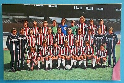 FOOTBALL Postcard C.1975 FOOTBALL TEAM - SHEFFIELD UNITED • 6.50£