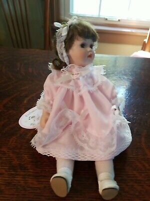 $ CDN13.14 • Buy Vintage Emerald Doll Collection 1995 Porcelain Doll Limited Edition