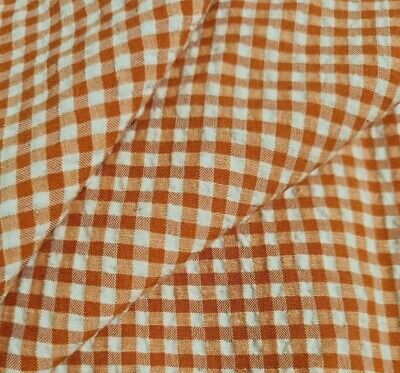 £4.22 • Buy  Mini Checked Wavy Effect Fabric - Sold By The Metre
