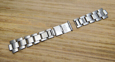 $ CDN986.85 • Buy Genuine Rolex 9315 Folded Oyster Watch Bracelet Bands For Submariner 5513 1680