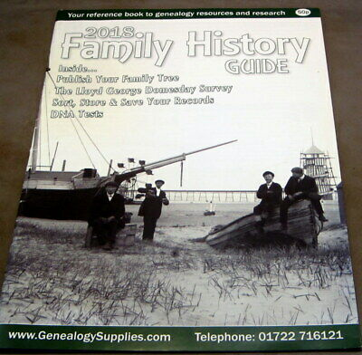FAMILY HISTORY GUIDE - 2018 By GENEALOGY SUPPLIES   £1.99 POST FREE • 1.99£