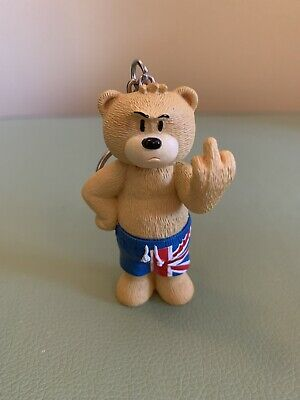 Bad Taste Bears - Shorty Union Jack Shorts Key Ring/Key Chain.  • 3.99£