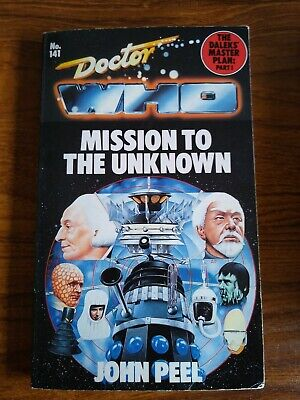 Doctor Who - Mission To The Unknown (Target Paperback Book) • 9.50£