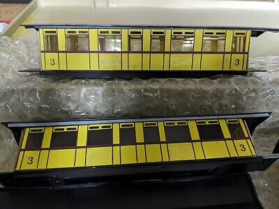 009 Scale Leek And Manifold Railway Carriage Kits, Partially Completed • 51£