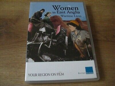Women In East Anglia Wartime Lives DVD Your Region On Film 1940s Norfolk  Rare • 1.99£
