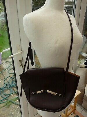 M & S AUTOGRAPH Stunning Genuine Leather Cross Body Shoulder Hand Bag BNWT £89 • 18£