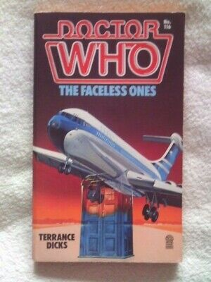 Vintage Doctor Who The Faceless Ones Paperback Target Book. Rare. • 5.25£