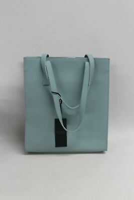 HOBBS Ladies Claremont Tote Bag Mint Blue Double Handle 100% Leather NEW • 69.05£