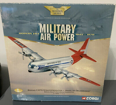 Corgi Aa31002 Boeing C-97g Stratofreighter Angel Of Deliverance Berlin Airlift • 28£