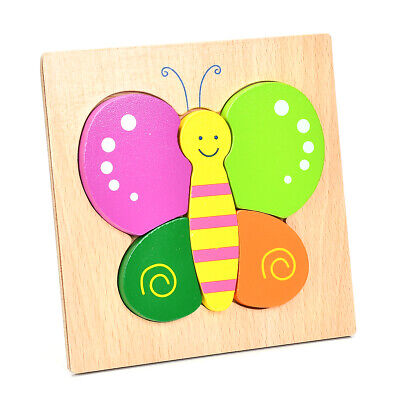 Puzzles Jigsaw For Baby Boys Wooden Puzzles Toys For 1-3 Year Old Boys GirlsCA50 • 5.91£