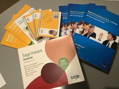 AAT Basic Accounting 1&2 Large Study Pack • 65£