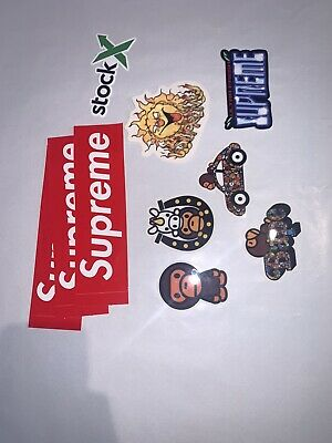 $ CDN27 • Buy Supreme Stickers 10 Total !!! 100% Authentic