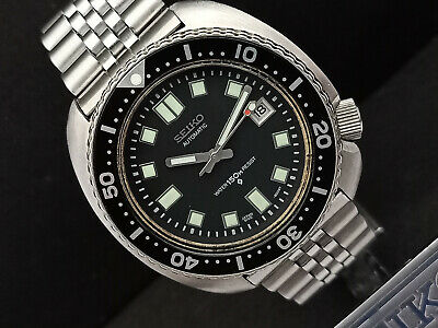 $ CDN214.35 • Buy Seiko Diver 6309-7040 Turtle 6105 Apocalypes Mod Automatic Mens Watch 040207