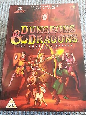 Dungeons And Dragons - Complete(Dvd,2004,animated,box Set) • 5£
