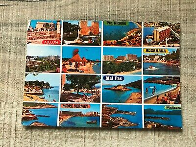 Collectable Postcard Spain Mallorca Alcudia  (e270) • 2.49£