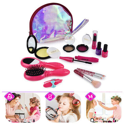 Little Fairy Princess Make-up Set Cosmetic Makeup Kit Role Play Toys For Girls • 16.55£