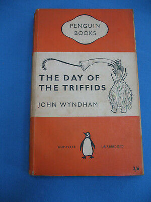 The Day Of The Triffids   John Wyndham    Penguin   Pb  1956  1st Reprint  • 1.99£