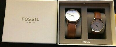 Fossil His And Hers Matching Wristwatch Set Bnib • 110£