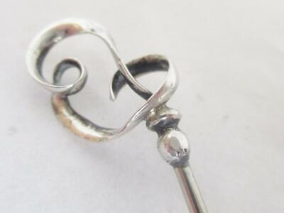 Superb Charles Horner Solid Silver Hat Pin Art Deco  Hallmarked Chester 1923 • 25£