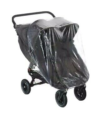 Rain Cover To Fit Baby Jogger City Mini Gt Double Rain Cover With Zip  Uk Mfd  • 18.95£