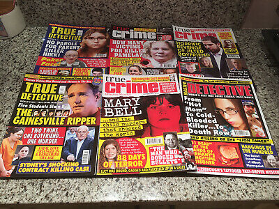 True Crime And Master Detective Magazine Bundle (6) Great Condition  • 9£
