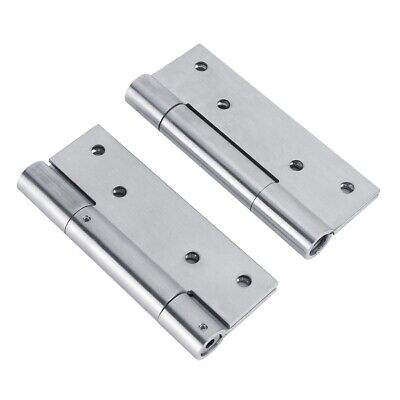 2X Spring Hinge Bisagra Self‑Closing Door Closer Automatic Return Doorhinges • 18.96£