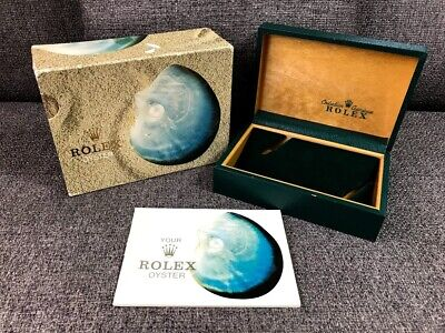 $ CDN498.69 • Buy Rolex Shell 16014 Vintage Box Case Genuine 68.00.2 Rare Booklet / 201014329