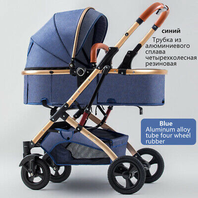 AU345.10 • Buy Baby Stroller  Sit  Lie 2 In 1  Two-way Pushing High Landscape Umbrella Carts