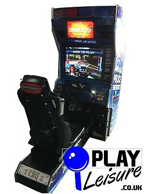 Taito's Chase HQ 2 Arcade Machine - Ready To Play - Games Room Man Cave • 1,495£