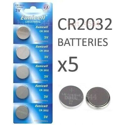 £2.99 • Buy 5 X Car Key Fob Battery Remote For Nissan 370z 2009- 2019 Cr2032 Free P&p